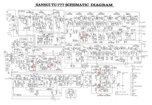 Sansui_tu777_schematic